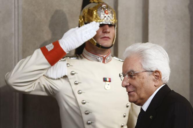 Le président italien Sergio Mattarella, le 4 septembre.