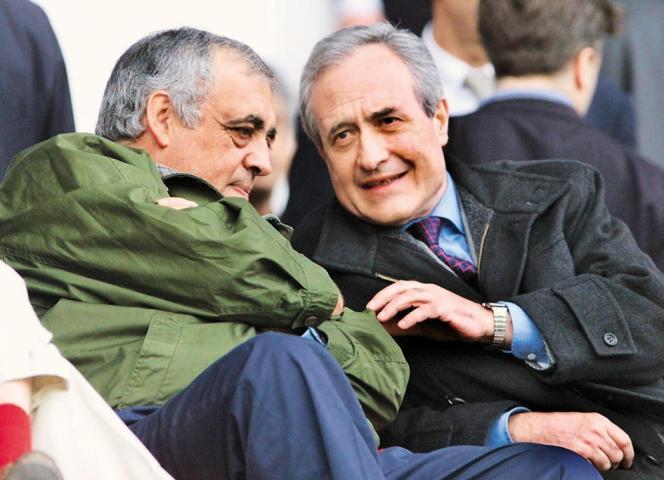 Philippe Séguin et Jean Tibéri, en 1999.