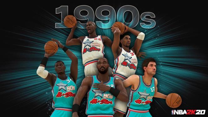 L'équipe des années 1990 est la meilleure, mais elle triche, elle joue avec quatre ballons.