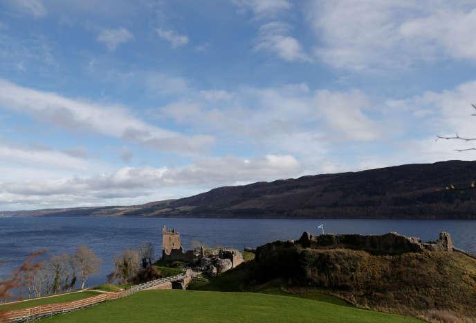 Le Loch Ness, près de la ville d'Iverness, en Ecosse, le 8 mars.