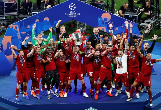 Liverpool vainqueur de l'édition 2019 de la Ligue des champions.