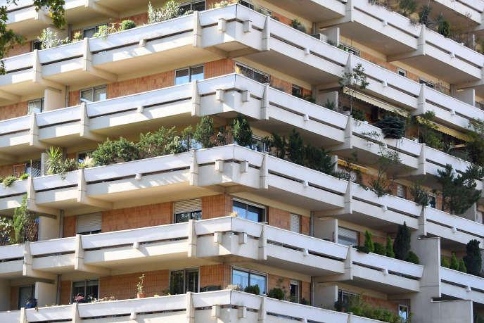 Un immeuble d'habitations, à Toulouse, en septembre 2017.