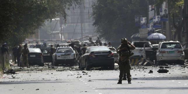 Cinq morts dans un attentat à Kaboul, les talibans revendiquent l'attaque