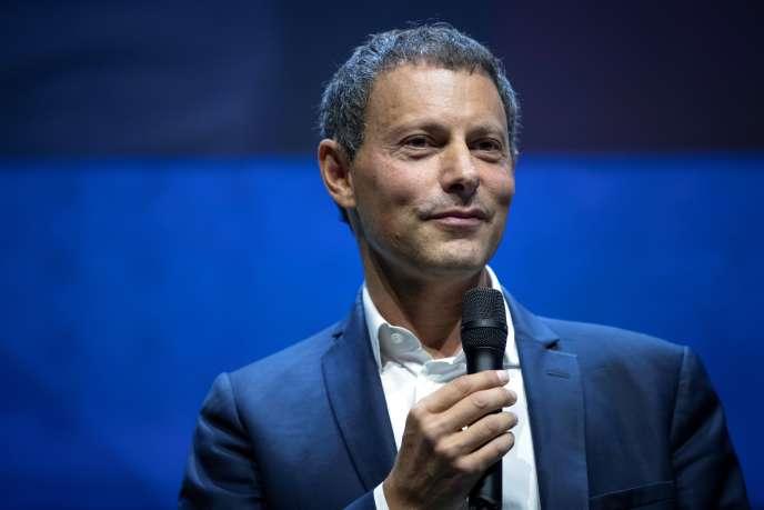Marc-Olivier Fogiel le 5 septembre, à Paris.