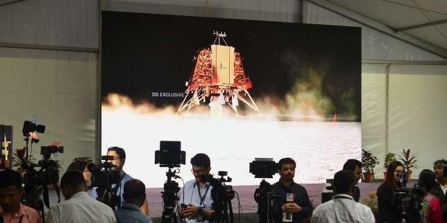 Tout n'est pas perdu pour la mission lunaire indienne Chandrayaan-2