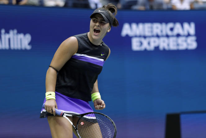 Bianca Andreescu remporte l'US Open à New York, le 7 septembre.