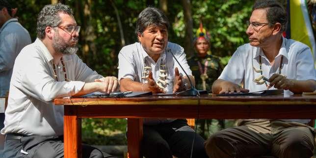 Amazonie : sept pays de la région signent un pacte de protection de la forêt   https://www.francetvinfo.fr/monde/ameriques/amazonie/amazonie-sept-pays-de-la-region-signent-un-pacte-de-protection-de-la-foret_3606955.html…pic.twitter.com/iDEe1T1N4u