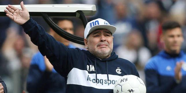 En Argentine, l'icône Maradona brille toujours