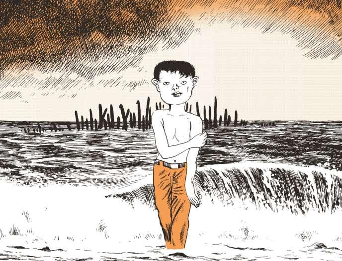 Extrait du récit« La Vis», dans «La Vis (œuvres 1968-1972)», de Yoshiharu Tsuge.