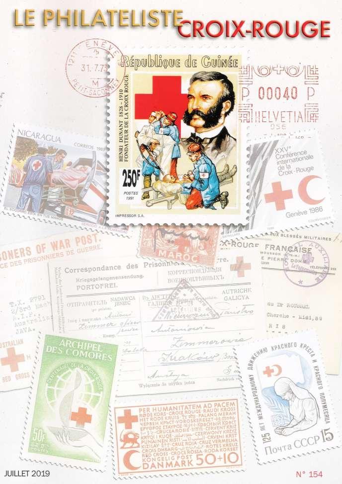 « Le Philatéliste Croix-Rouge», juillet 2019.