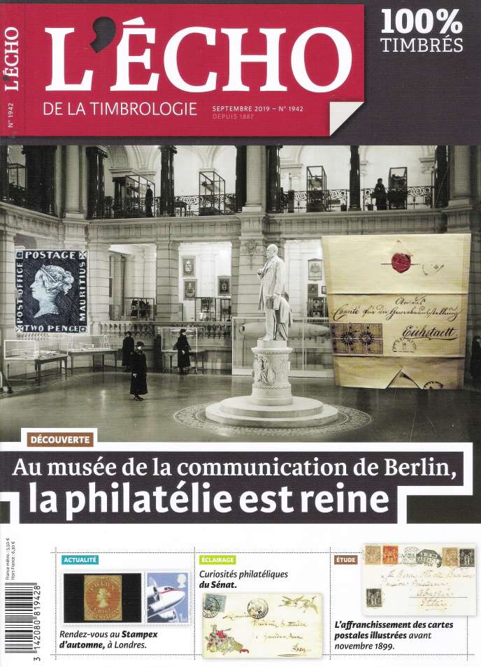 « L'Echo de la timbrologie» de septembre.