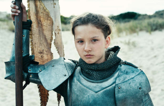 La jeune Lise Leplat Prudhomme jouait déjà Jeanne d'Arc dans «Jeannette», sorti en 2017.