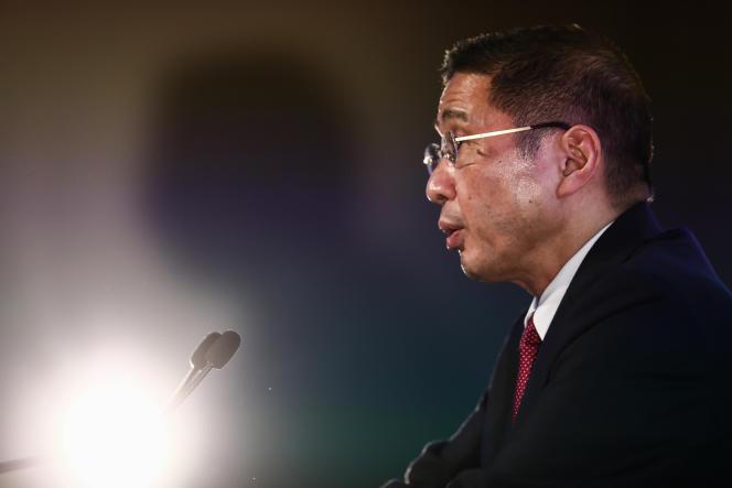 Le PDG de Nissan Hiroto Saikawa a annoncé son départ le 9 septembre.
