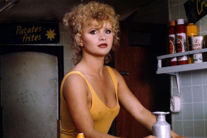 Renee Soutendijk, marchande de frites dans «Spetters».