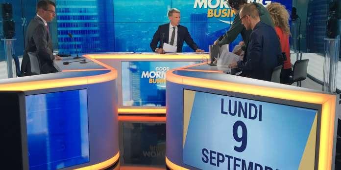 Christophe Jakubyszyn, « roi du monde » chaque matin sur BFM Business
