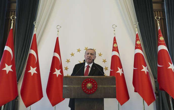 Le président turc Recep Tayyip Erdogan, à Ankara, le 10 septembre 2019.