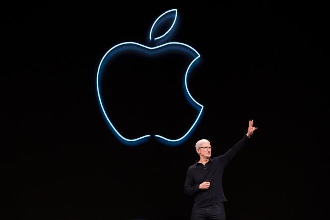 Le patron d'Apple, Tim Cook, à San José (Californie), le 3 juin.