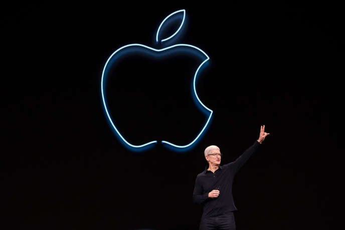 Le patron d'Apple, Tim Cook, à San José (Californie), le 3 juin.