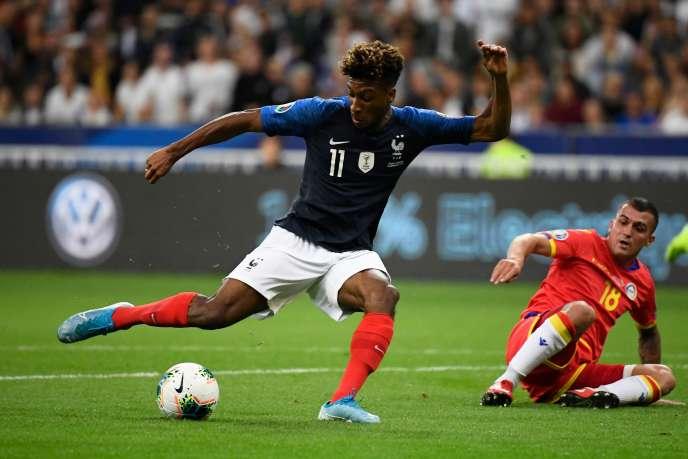 Kingsley Coman, le 10 septembre, au Stade de France.