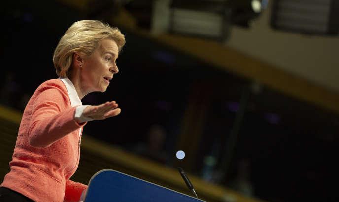 La future présidente de la Commission européenne, Ursula von der Leyen, le 10 septembre à Bruxelles.