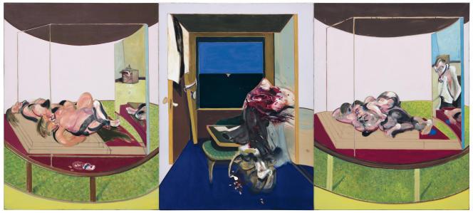 «Triptyque»(1967) de Francis Bacon.