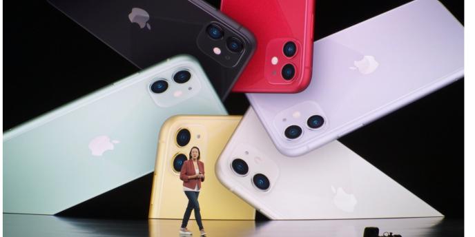 Les nouvelles couleurs de l'iPhone d'entrée de gamme sont assez pâles, voire surprenantes.