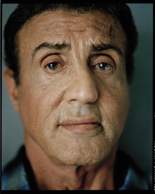 Sylvester Stallone, à Cannes, en mai.