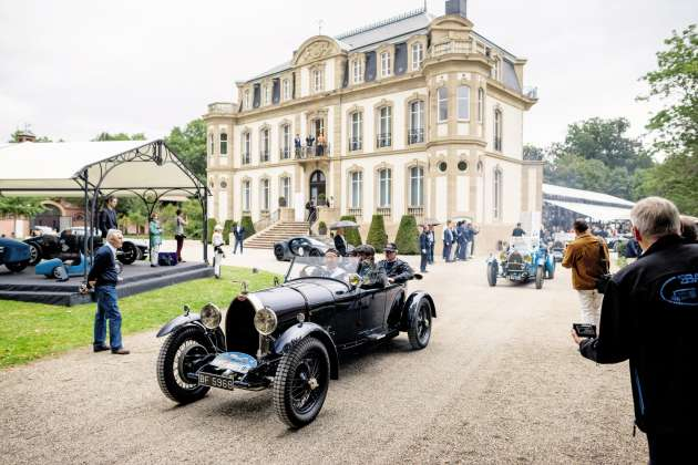 Le siège historique de Bugatti, dans le Bas-Rhin, est habituellement fermé au public.