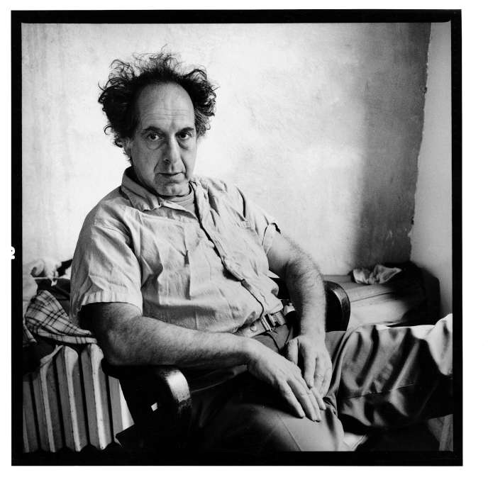 Robert Frank à New York, en 1982.