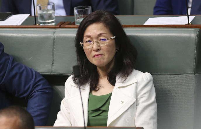 La députée libérale Gladys Liu, première Australienne d'origine chinoise à accéder à la Chambre des représentants, a dû s'expliquer sur des soupçons de liens avec des intérêts chinois.