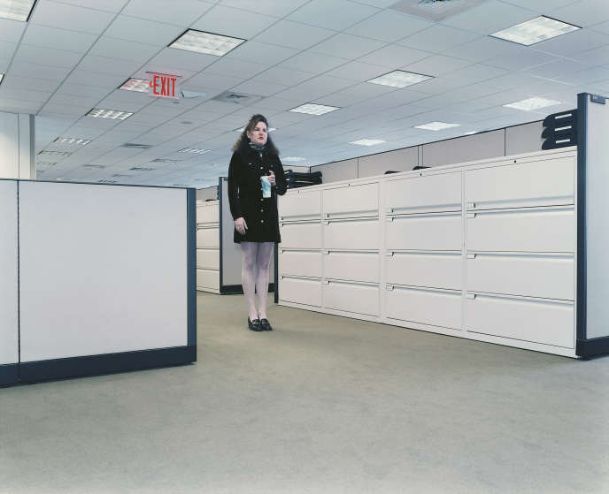 Au bureau (New York, 1997).