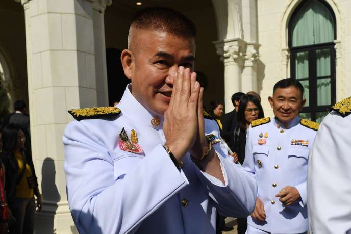 Le secrétaire d'Etat thaïlandais à l'agriculture, Thamanat Prompow, le 16 juillet 2019.