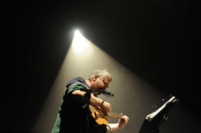 Daniel Johnston lors du festival Le Printemps de Bourges, en avril 2010.