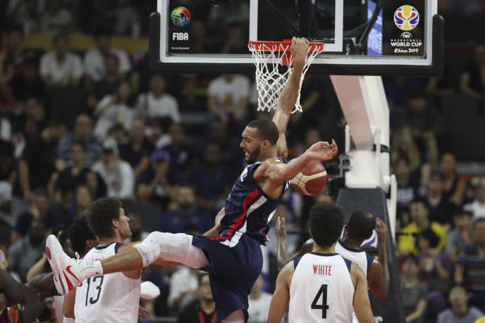 "In attack as in defense, Rudy Gobert dominated the Americans and brought the Bleus face the ""Team USA""."