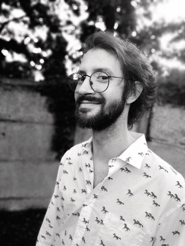 Le dessinateur Thomas Mathieu, auteur de la BD«Les crocodiles sont toujours là» (2019).