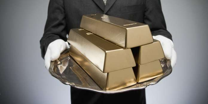 L'or, relique civilisée « d'une économie devenue barbare »