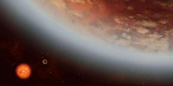De la vapeur d'eau dans le ciel de la super-Terre K2-18 b