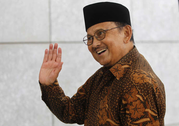 B. J. Habibie, en mars 2016, à Djakarta.