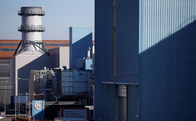 L'usine General Electric de Belfort, le 5 février.