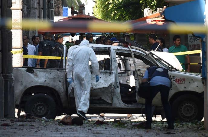 Un attentat-suicide, en plein coeur de Tunis, avait fait deux morts le 27 juin 2019.