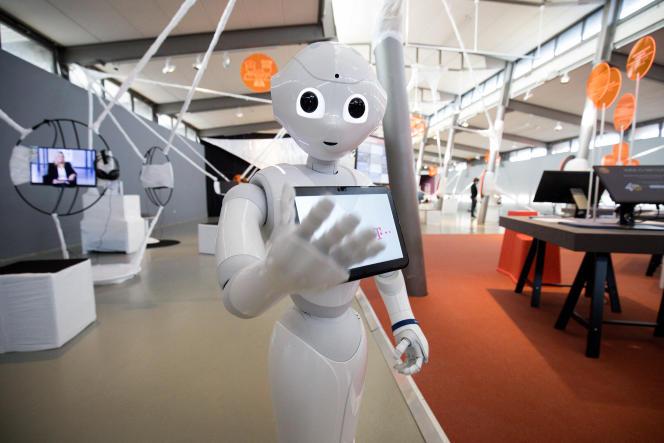 «Bruxelles et les Etats membres se sont inquiétés de plus en plus de l'impact potentiel des outils d'IA non-réglementés — une menace potentielle pour la vie privée, la sécurité et la démocratie» (Photo: le robot Pepper, en novembre 2018, à Hambourg).