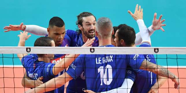 Volley: la France s'impose face à la Roumanie 3-0
