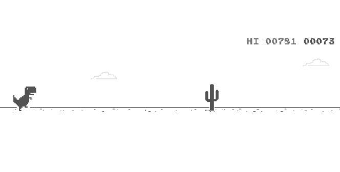Il court, il court le dino, vers un avenir incertain mais riche en cactus.