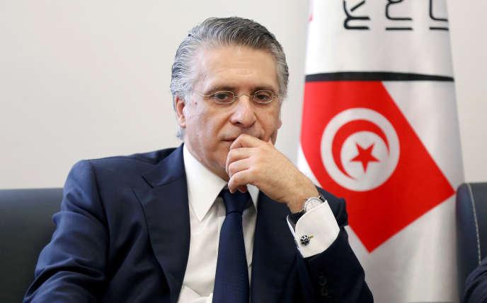 Nabil Karoui, le 2 août 2019.