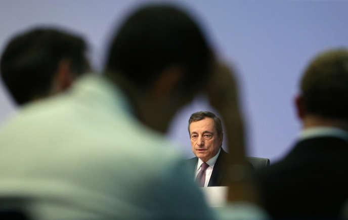 Le président de la Banque centrale européenne, Mario Draghi, à Francfort, le 12 septembre 2019.