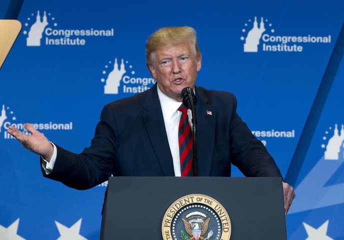 Donald Trump à Baltimore, le 12 septembre.