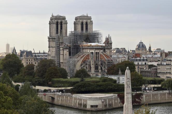 La cathédrale Notre-Dame, le 9 septembre.