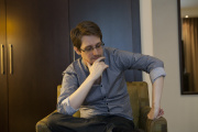 Edward Snowden, le 17 septembre 2015, à Moscou, en Russie.
