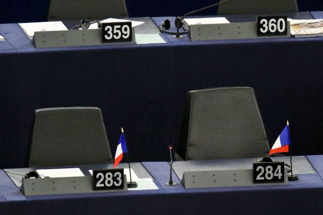 Au Parlement européen, à Strasbourg, en 2017.