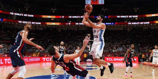 Mondial de basket: la France corrigée par l'Argentine en demi-finales